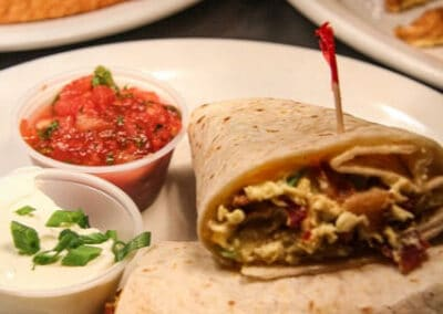 Pour Sports offers breakfast burritos in east county