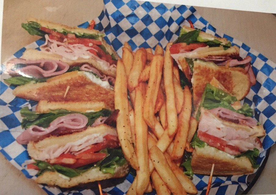 Pour Sports offers club sandwich