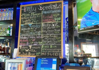 Pour Sports offers daily specials