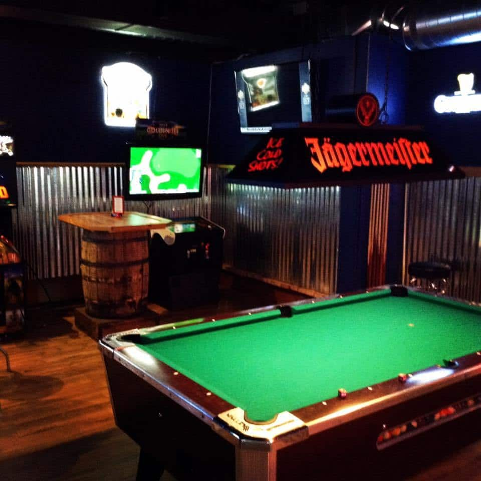 Pour Sports offers pool tables