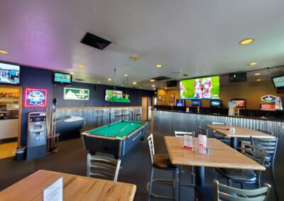 Pour Sports offers pool